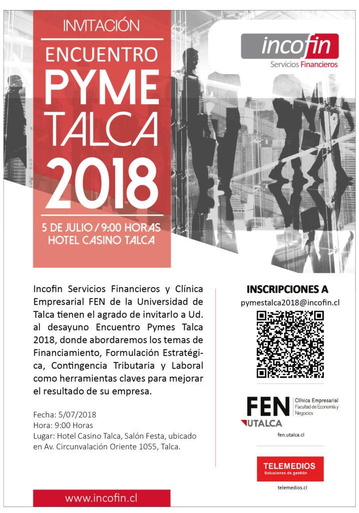 Evento PYMES TALCA 2018