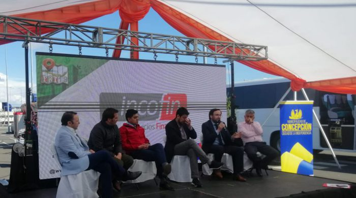 Incofin presente en Feria Regional del Transporte en Concepción